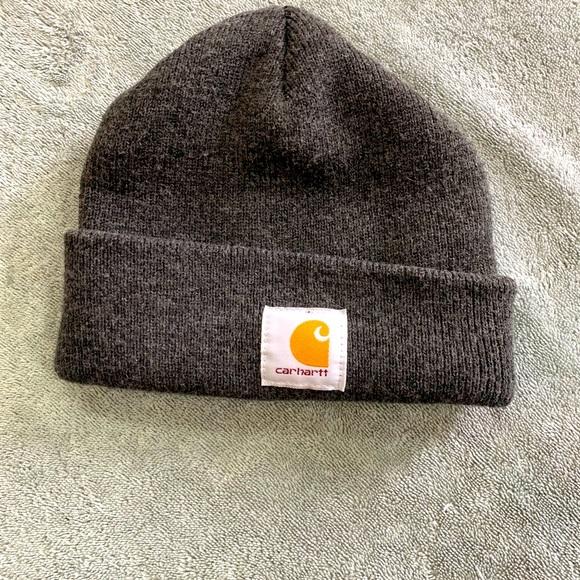 Carhattt men's gray winter hat